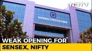Sensex Down Over 100 Points, Nifty Below 10,750 - NDTVPROFIT