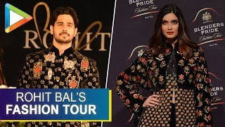Siddharth Malhotra & Diana Penty on Ramp for Rohit Bal's Blenders Pride Fashion Tour 2019 Part 3 - HUNGAMA