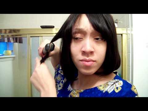 chinese bang hairstyles. chinese bangs hairstyle. curly chinese bang using; curly chinese bang using