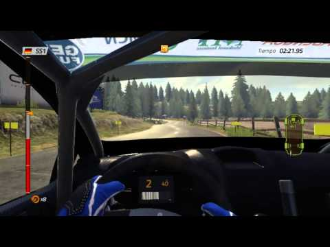WRC4 mod carrera l rally alemania l part 1