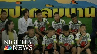 Thai Soccer Team Rescued From Cave Speaks Out | NBC Nightly News - NBCNEWS