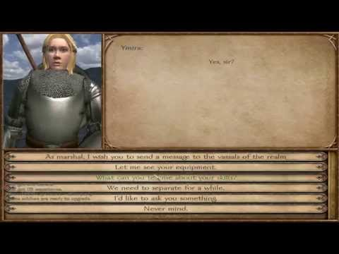 Let's Play Mount and Blade Warband - Spunty's Tale 77 (The Reign): Walking and Wooing