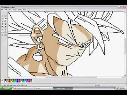 วาดโงกุนในโปรแกรม Paint ผมไม่ได้ทำ ...