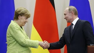 Merkel and Putin meet for talks in Berlin: joint statements - RUSSIATODAY