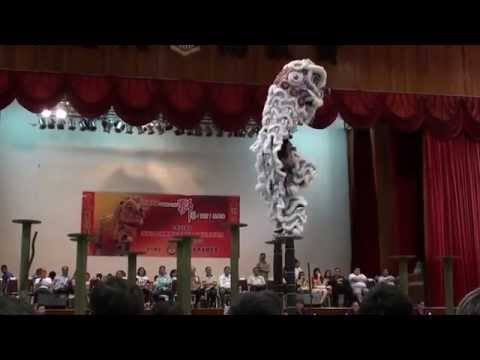 KK International High Pole Lion dance competition- Persatuan Tarian Singa Kota Kinabalu