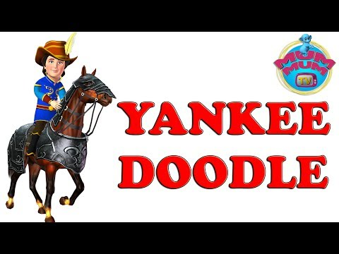 Yankee Doodle Dandy American Patriotic Video Songs -Nursery Rhymes for kids, Children, and Babies
