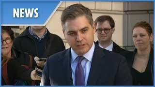 CNN's Jim Acosta's press pass temporarily returned by judge - THESUNNEWSPAPER