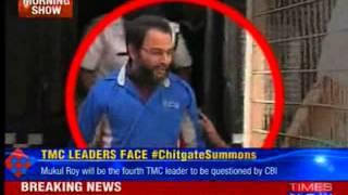 CBI to QUIZ TMC MP Mukul Roy - TIMESNOWONLINE