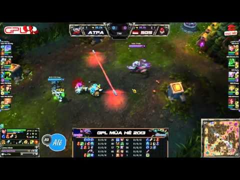 [GPL 2013 Mùa Hè] [Tuần 1] Azubu Taipei Assassins vs Singapore Sentinels [12.05.2013]
