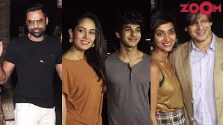 Karan Johar, Abhay Deol, Ishaan Khatter & other Bollywood celebs attend launch of a club - ZOOMDEKHO