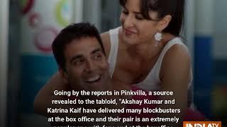 Will Katrina Kaif and Akshay Kumar come together for Rohit Shetty's Sooryavanshi? - INDIATV
