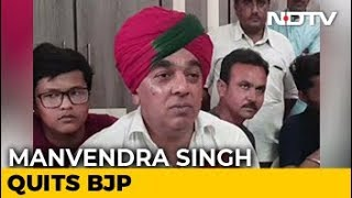 Jaswant Singh's Son Manvendra Quits BJP Ahead Of Rajasthan Polls - NDTV