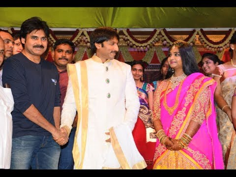 Celebs At Gopichand & Reshma's Wedding