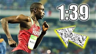 Why Running A 1:39 800 Meters is ALMOST IMPOSSIBLE!