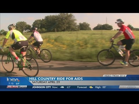 Cyclists to take part in Hill Country Ride for AIDS fundraiser