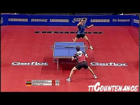 World Cup: Timo Boll-Vladimir Samsonov