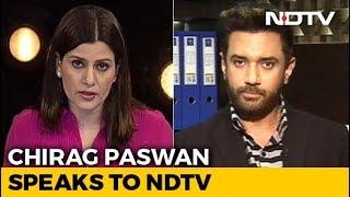 """""""Ram Mandir Only BJP's Agenda, Not NDA's"""": Chirag Paswan To NDTV - NDTV"""