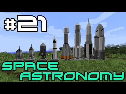 Minecraft Space Astronomy - Microchips and Steam Boilers! #21