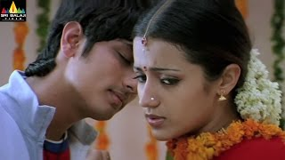 Nuvvostanante Nenoddantana Movie Scenes | Siddharth Romance with Trisha | Sri Balaji Video - SRIBALAJIMOVIES