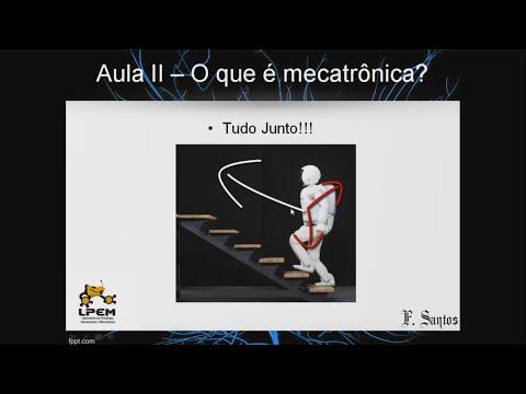 Aula 02 Mecatrônica Livre: O que é mecatrônica?