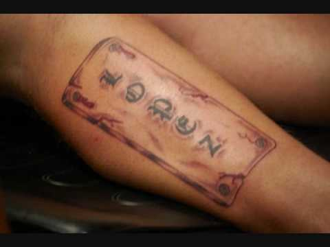 Name Tattoos Designs