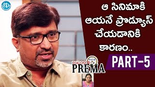 Director Mohan Krishna Indraganti Part #5 || Dialogue With Prema || Celebration Of Life - IDREAMMOVIES