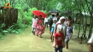 Wedding Under Flood Water in Gohpur, Assam | Mango News - MANGONEWS