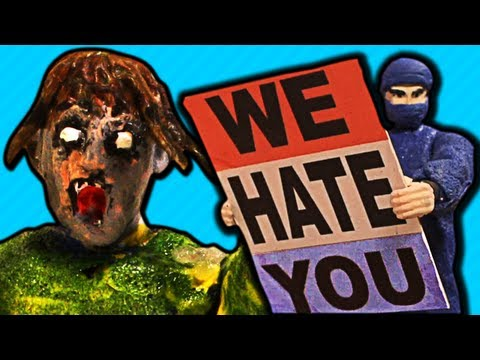 HATERZ GONNA HATE (Zombies vs. Ninjas #3)