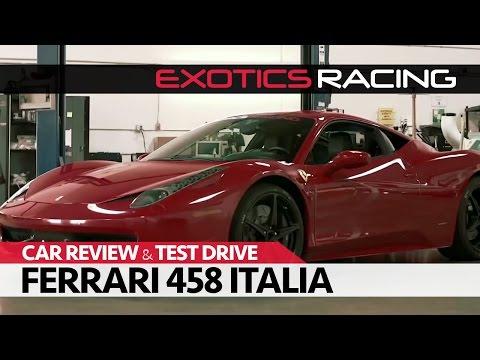Ferrari 458 Italia at Exotics Racing in Las Vegas