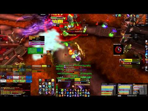 WoW SoO Air vs Kor'kron Dark Shaman 25M Heroic (Fire Mage PoV)