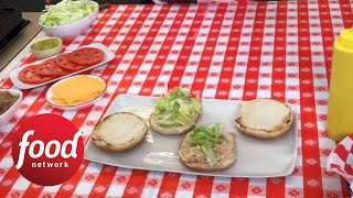 How to Make Animal-Style Burgers - FOODNETWORKTV