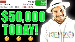 Why I Spent $50,000 on 1 Stock Today!