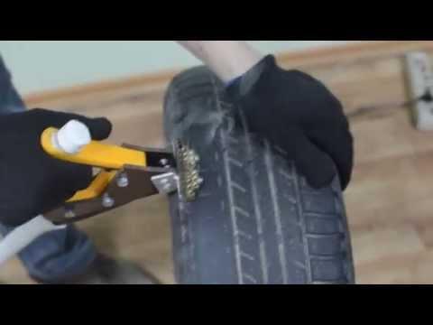 Нарезка протектора шин из паяльника