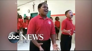 Baltimore's Cardinal Shehan school choir rehearsal goes viral - ABCNEWS