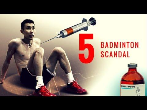TOP 5 BADMINTON SCANDAL