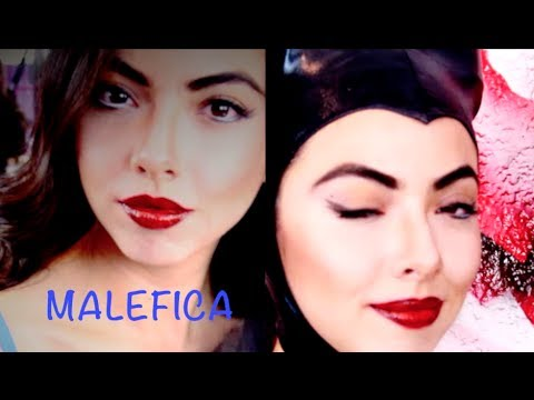 Look Maléfica Paso a Paso (Versión Sexy) / Maleficent Makeup Tutorial