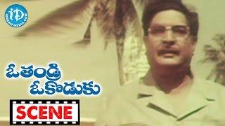 O Thandri O Koduku Movie Scenes - Annapoorna Refuses To Say About Vinod Kumar To Satyanarayana - IDREAMMOVIES