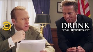 Fascinating Moments in Presidential History - Drunk History - COMEDYCENTRAL