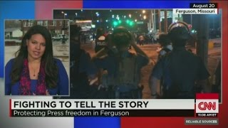 Fighting to tell the story in Ferguson - CNN