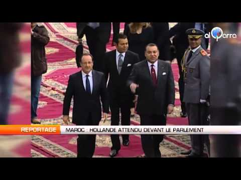 Maroc : Hollande attendu devant le parlement