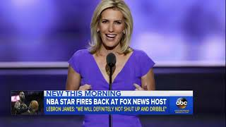War of words between LeBron James and Laura Ingraham - ABCNEWS