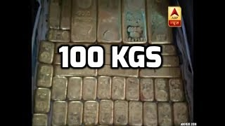 Lucknow: Gold worth 100 kg, Cash worth Rs 10 crore recovered in raid at businessman's house - ABPNEWSTV
