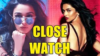 Alia Bhatt keeping a close watch on Deepika Padukone's films? | Bollywood News