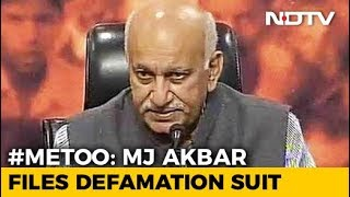 Minister MJ Akbar Sues Journalist For Defamation Over #MeToo Allegations - NDTV