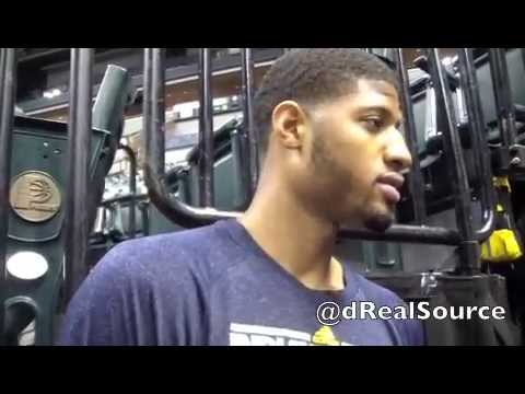 Paul George talks about upcoming ECF series with Miami, LeBron and DWade