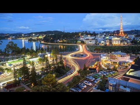 Thành phố Đà Lạt tuyệt đẹp bằng Flycam