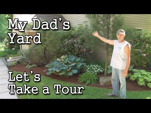 My Dad's Yard -A Tour of the AlsLandscaping.net Home Base (Indiana, PA Landscaper)