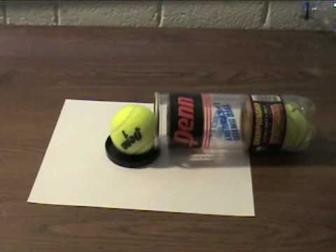 How To Make a Tennis Ball Cannon! -ROotWTkh_7c