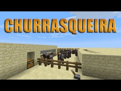 Matadouro/Churrasqueira automática para survival - Minecraft Tutorial 52