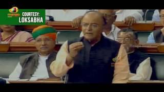 Finance Minister Arun Jaitley Full Speech On Union Budget 2017-18   Lok Sabha   Mango News - MANGONEWS